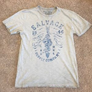 Salvage supply company fashion tee